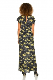 Patrizia Pepe |  Maxi floral dress Hailey | black   | Picture 5
