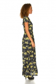 Patrizia Pepe |  Maxi floral dress Hailey | black   | Picture 4