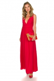 Patrizia Pepe | Dress Juliette | red  | Picture 3