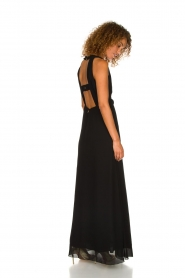 Patrizia Pepe | Maxi-dress Josephine | black  | Picture 7