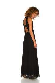 Patrizia Pepe | Maxi-dress Josephine | black  | Picture 7