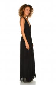 Patrizia Pepe | Maxi-dress Josephine | black  | Picture 4