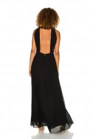 Patrizia Pepe | Maxi-dress Josephine | black  | Picture 6