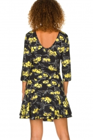 Patrizia Pepe |  Floral dress Bonnie | black  | Picture 5