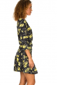 Patrizia Pepe |  Floral dress Bonnie | black  | Picture 4