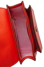 Essentiel Antwerp   Leren schoudertas Pantania   rood    Afbeelding 5