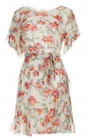 Patrizia Pepe |  Floral dress Chiara | white  | Picture 1