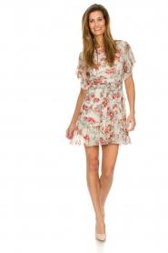 Patrizia Pepe |  Floral dress Chiara | white  | Picture 3