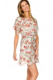 Patrizia Pepe |  Floral dress Chiara | white  | Picture 5