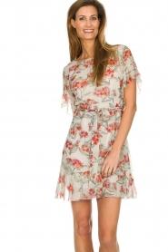 Patrizia Pepe |  Floral dress Chiara | white  | Picture 2