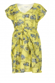 Patrizia Pepe |  Floral dress Kalis | yellow  | Picture 1