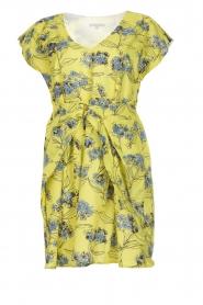 Patrizia Pepe |  Floral dress Kalis | yellow  | Picture 1