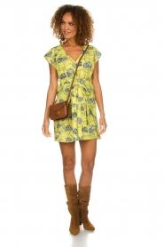 Patrizia Pepe |  Floral dress Kalis | yellow  | Picture 3