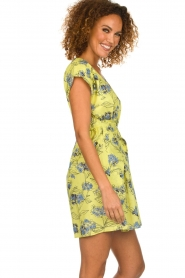 Patrizia Pepe |  Floral dress Kalis | yellow  | Picture 4