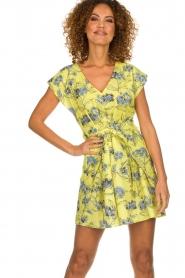 Patrizia Pepe |  Floral dress Kalis | yellow  | Picture 2