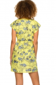 Patrizia Pepe |  Floral dress Kalis | yellow  | Picture 5