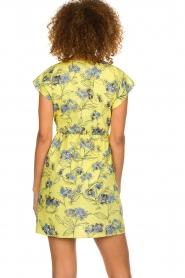 Patrizia Pepe |  Floral dress Kalis | yellow  | Picture 5