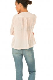 Hunkydory | Lace-up top Monte | nude  | Afbeelding 5