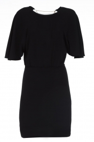 Patrizia Pepe |  Dress with open back Noe | black  | Picture 1