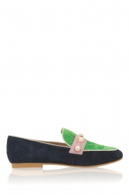 Suede loafers Pistou | groen