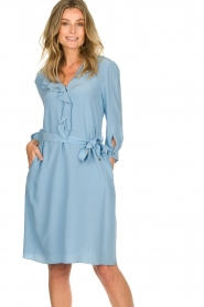 Patrizia Pepe | Dress Arianna | blue  | Picture 2