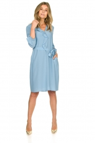 Patrizia Pepe | Dress Arianna | blue  | Picture 3