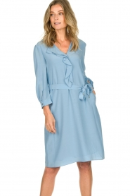 Patrizia Pepe | Dress Arianna | blue  | Picture 4