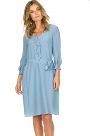 Patrizia Pepe | Dress Arianna | blue  | Picture 5