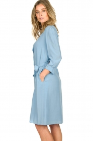 Patrizia Pepe | Dress Arianna | blue  | Picture 6