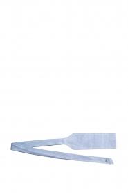 Patrizia Pepe |  Suede waist belt Monia | blue  | Picture 3