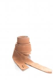 Patrizia Pepe |  Suede waist belt Monica | nude  | Picture 1