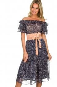 Patrizia Pepe |  Suede waist belt Monica | nude  | Picture 4