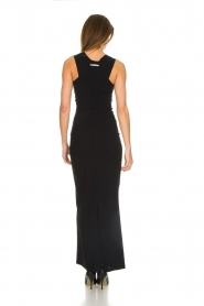 Patrizia Pepe |  Maxi dress Cristina | black  | Picture 5