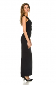 Patrizia Pepe |  Maxi dress Cristina | black  | Picture 4