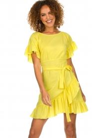 Patrizia Pepe | Dress Camilla | yellow  | Picture 2