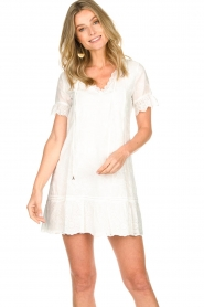 Patrizia Pepe | Dress Natalia | white  | Picture 4