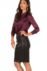 Aaiko |  Pencil skirt Brynn | black  | Picture 4