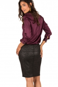 Aaiko |  Pencil skirt Brynn | black  | Picture 5