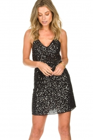 Patrizia Pepe | Dress Angelique | black  | Picture 4