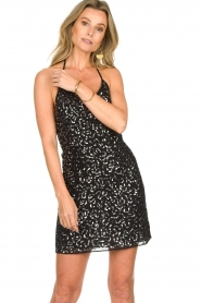 Patrizia Pepe | Dress Angelique | black  | Picture 7