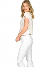 Patrizia Pepe    Blouse with lace details Maria   white    Picture 4
