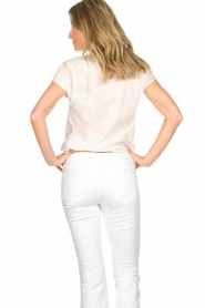 Patrizia Pepe |  Blouse with lace details Maria | white  | Picture 5
