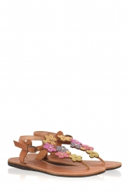 Laidback London |  Leather sandals Ezra | multi  | Picture 4