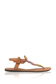 Laidback London |  Leather sandals Ezra | multi  | Picture 3
