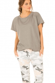 Juvia | T-shirt Essential | grijs  | Afbeelding 2