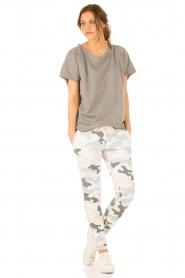 Juvia | T-shirt Essential | grijs  | Afbeelding 3