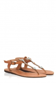 Laidback London |  Leather sandals East | blue  | Picture 3