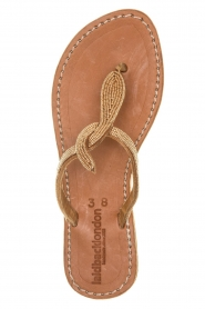 Laidback London |  Leather sandals Lana | brown  | Picture 1
