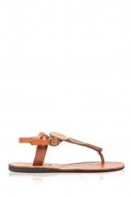 Laidback London | Leren sandalen Isko | multi  | Afbeelding 4