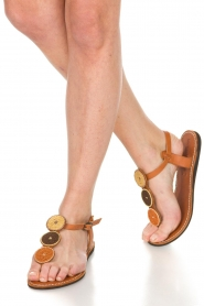 Laidback London |  Leather Sandals Isko | multi  | Picture 2
